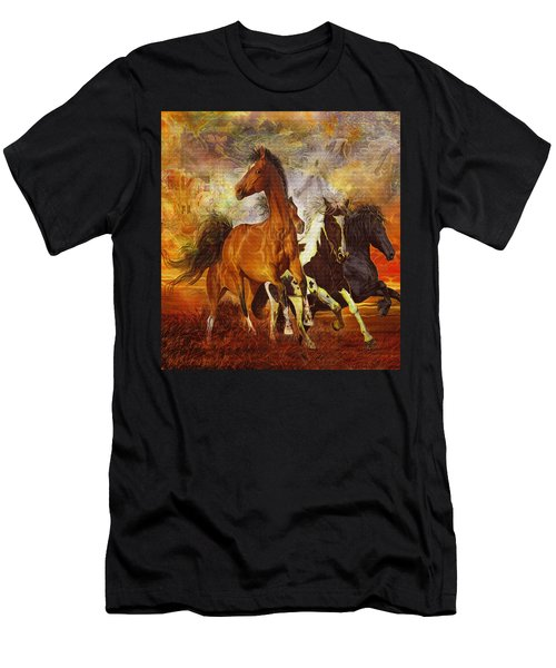 Fantasy Horse Visions Men's T-Shirt (Athletic Fit)