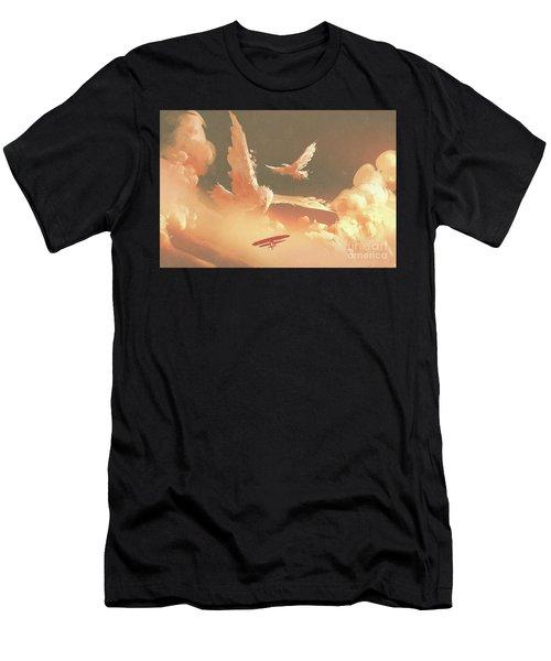 Fantasy Sky Men's T-Shirt (Athletic Fit)