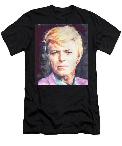 Farewell David Bowie Men's T-Shirt (Athletic Fit)