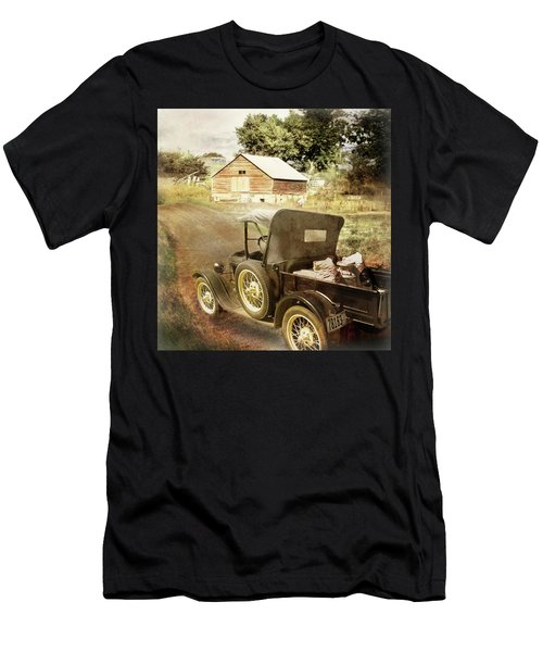 Farm Delivered Men's T-Shirt (Athletic Fit)