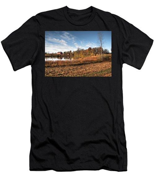 Farm Fall Colors Men's T-Shirt (Athletic Fit)
