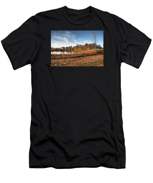 Farm Fall Colors Men's T-Shirt (Athletic Fit)