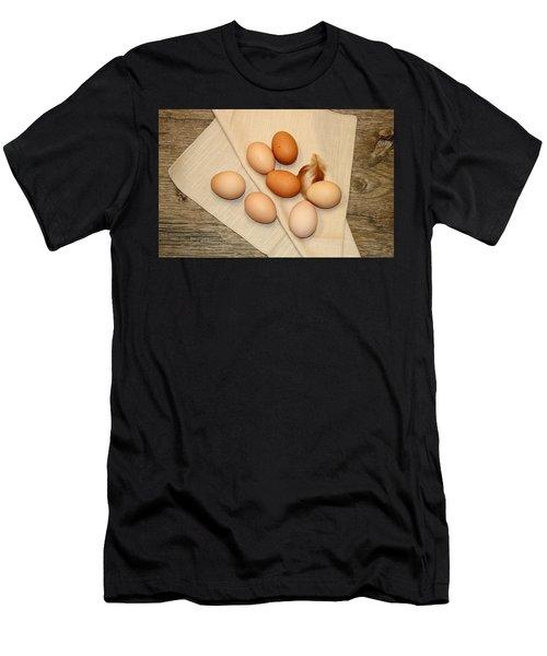 Farm Fresh Eggs Men's T-Shirt (Athletic Fit)
