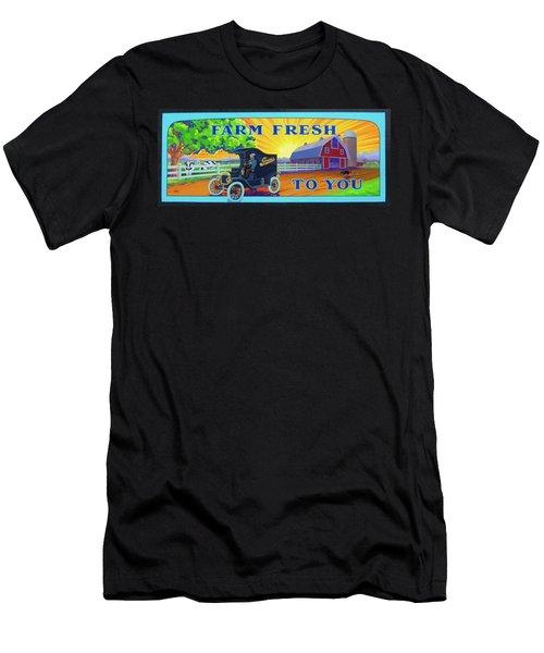 Farm Fresh To You  Men's T-Shirt (Athletic Fit)