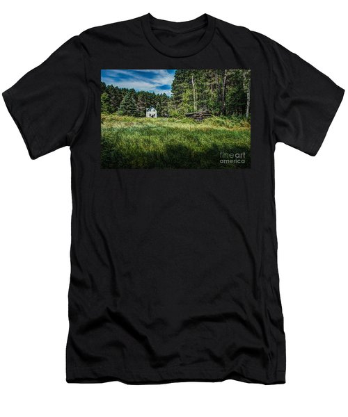 Farm In The Woods Men's T-Shirt (Athletic Fit)