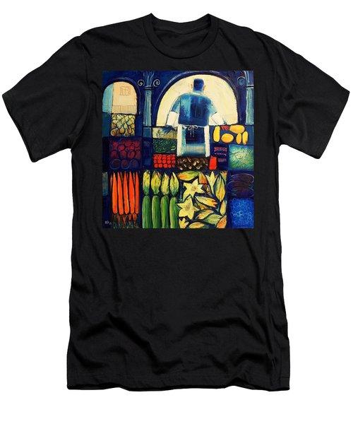Farm Market   Men's T-Shirt (Athletic Fit)