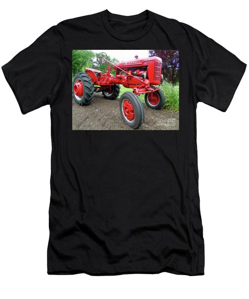 Farmall Men's T-Shirt (Slim Fit) by Susan Lafleur