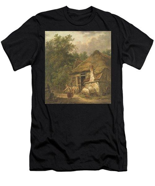 Farmhouse Near Helvoirt   Men's T-Shirt (Athletic Fit)