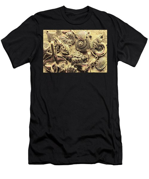 Fashioning A Oceanic Theme Men's T-Shirt (Athletic Fit)