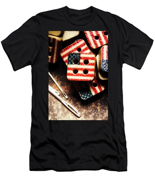 Fashioning A Usa Design Men's T-Shirt (Athletic Fit)