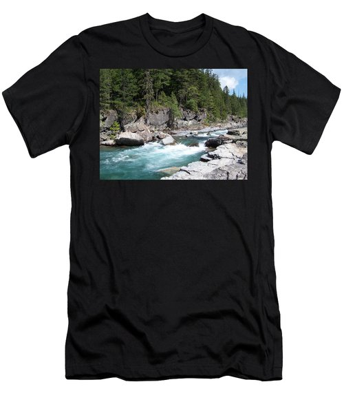 Fast River Men's T-Shirt (Athletic Fit)