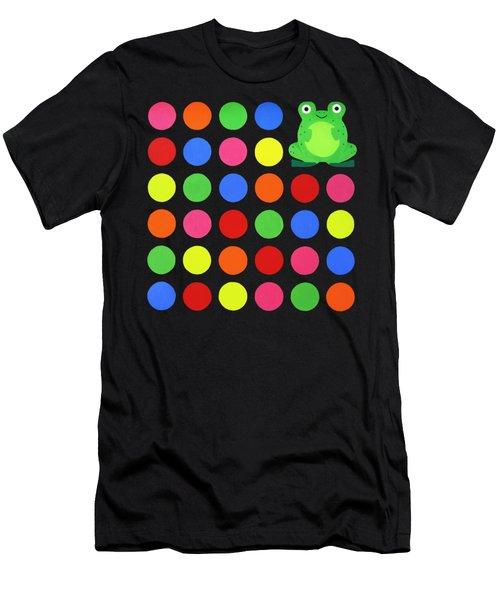 Discofrog Remix Men's T-Shirt (Slim Fit) by Oliver Johnston