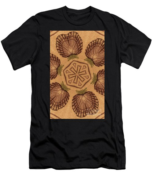 Fat Pineapple And Star Men's T-Shirt (Athletic Fit)