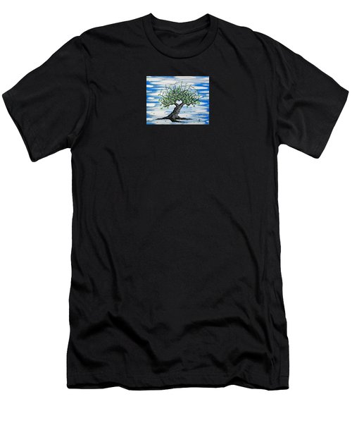 Father Love Tree Men's T-Shirt (Athletic Fit)
