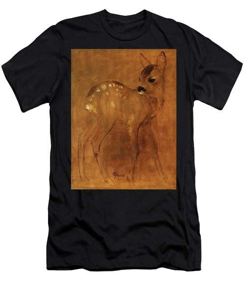 Fawn Men's T-Shirt (Athletic Fit)