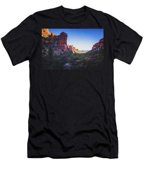 Fay Canyon Vista Men's T-Shirt (Athletic Fit)