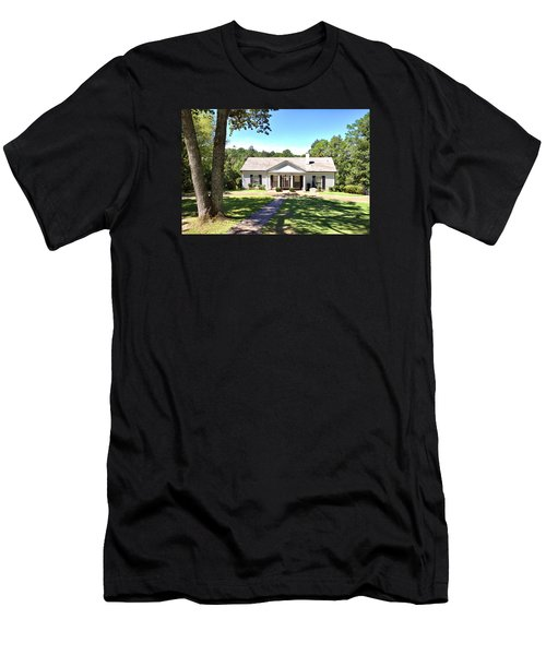 Fdr's Little White House Men's T-Shirt (Athletic Fit)