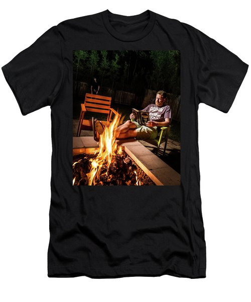 Fear By Fire Men's T-Shirt (Athletic Fit)