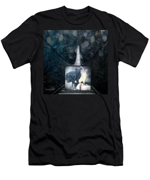 Fear Of Stairs Men's T-Shirt (Athletic Fit)