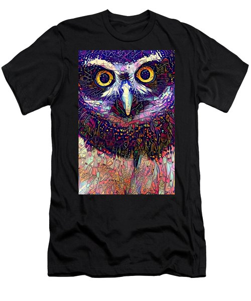 Feather Jeweled Men's T-Shirt (Athletic Fit)