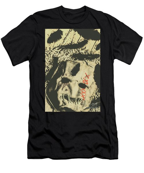 Feathers From Dead Crows Men's T-Shirt (Athletic Fit)