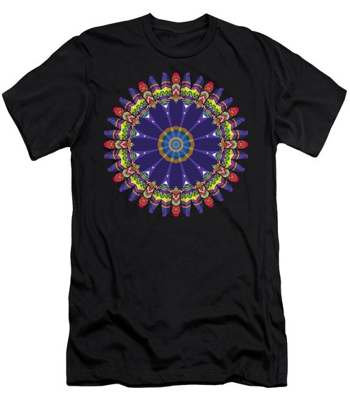 Feathers In The Round Men's T-Shirt (Athletic Fit)