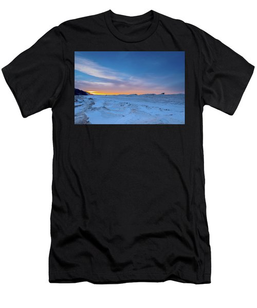 February Sunset Men's T-Shirt (Athletic Fit)
