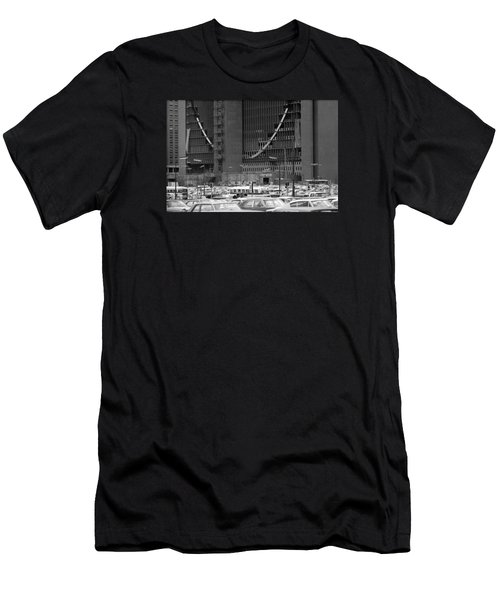 Federal Reserve Under Construction Men's T-Shirt (Athletic Fit)