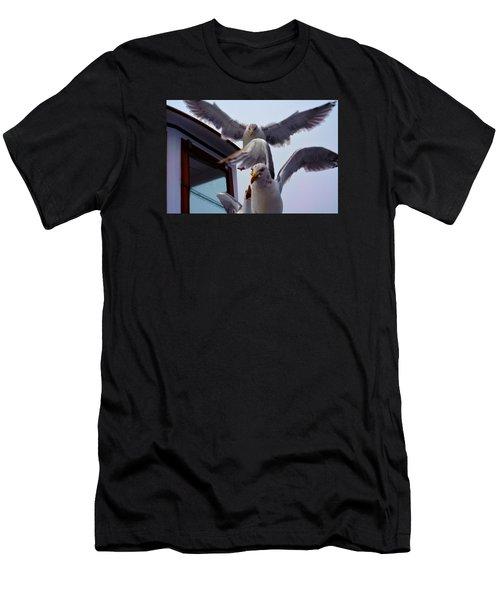 Feeding Frenzy Men's T-Shirt (Athletic Fit)
