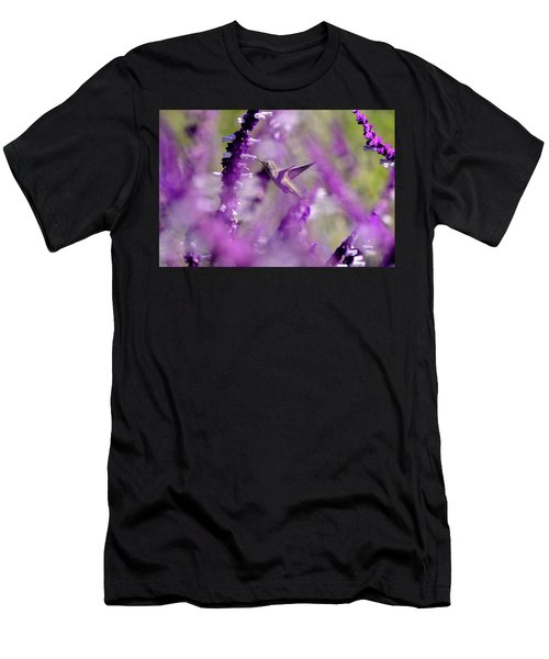Feeding In The Midst Of Purple 1 Men's T-Shirt (Athletic Fit)