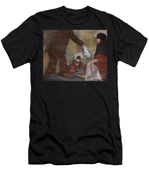 Feeding The Hungry Men's T-Shirt (Athletic Fit)
