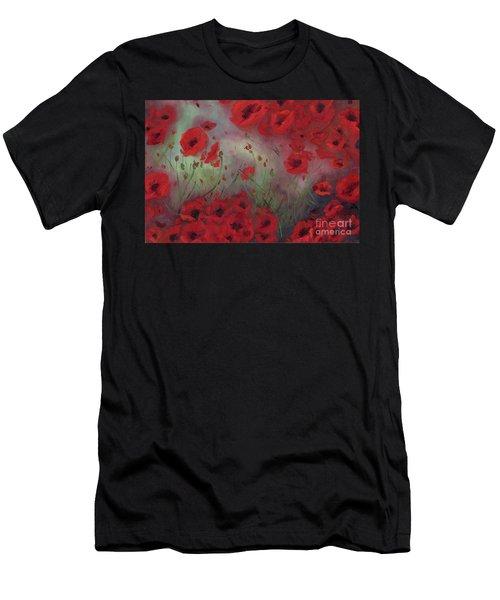 Feeling Poppy Men's T-Shirt (Athletic Fit)