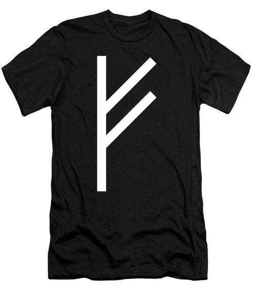 Fehu Rune Men's T-Shirt (Athletic Fit)
