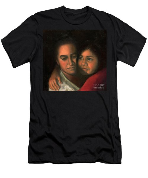 Felicia And Kira Men's T-Shirt (Slim Fit) by Marlene Book