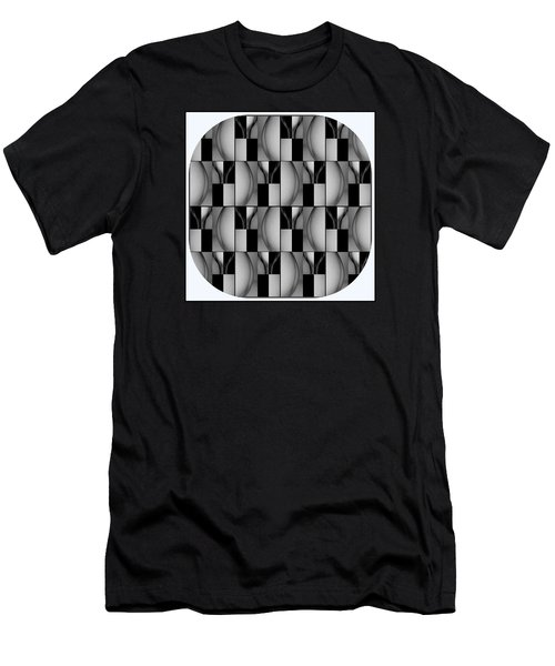 Female Abstraction Image Three Men's T-Shirt (Athletic Fit)