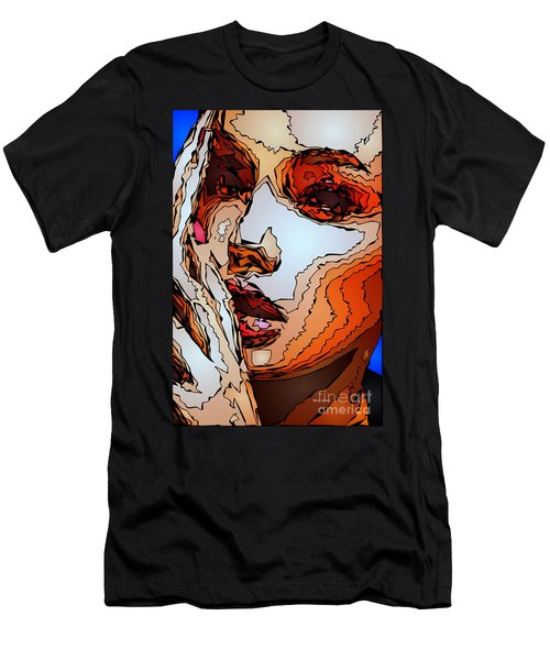 Female Expressions Viii Men's T-Shirt (Athletic Fit)
