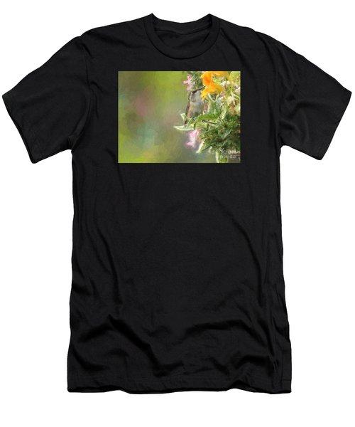 Female Rufous Hummingbird Men's T-Shirt (Athletic Fit)