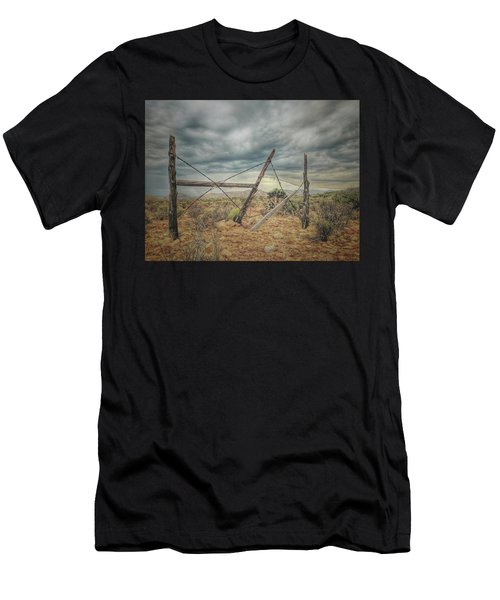 Fence Post Blues  Men's T-Shirt (Athletic Fit)
