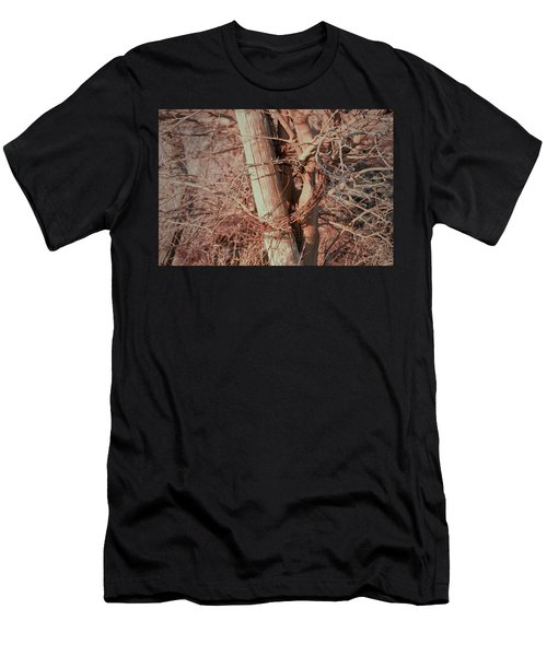 Fence Post Buddy Men's T-Shirt (Athletic Fit)