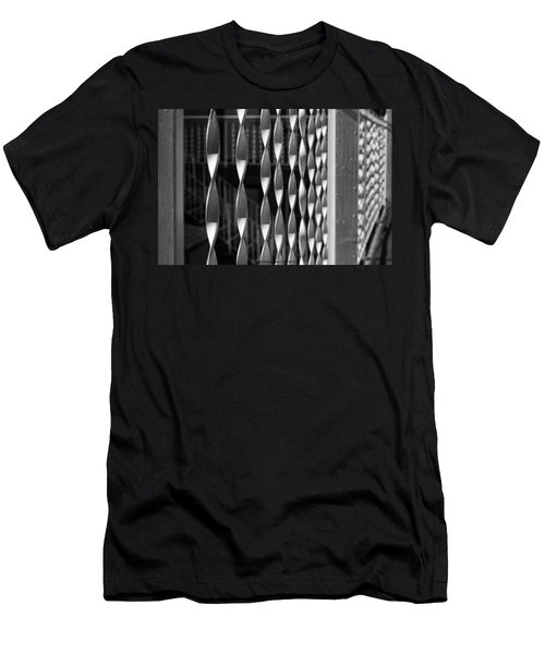 Fence Song  Men's T-Shirt (Athletic Fit)