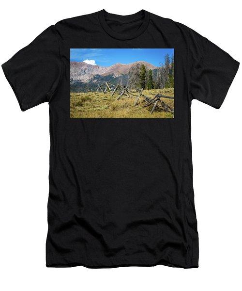 Fences Into The Rockies Men's T-Shirt (Athletic Fit)