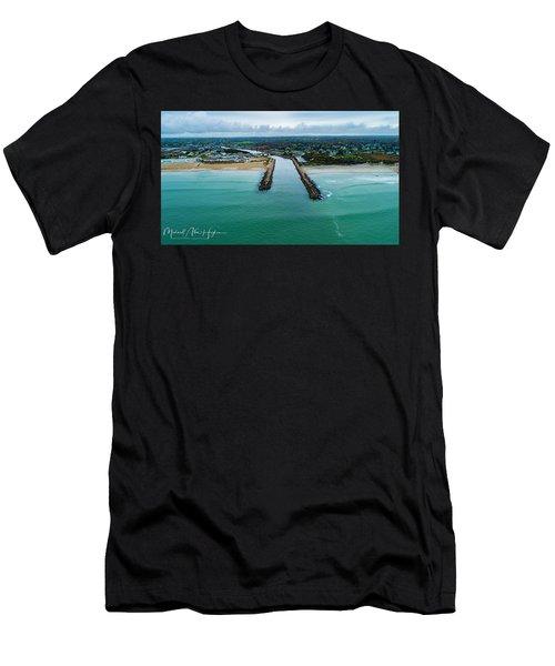 Fenway Beach Breakwater Men's T-Shirt (Athletic Fit)
