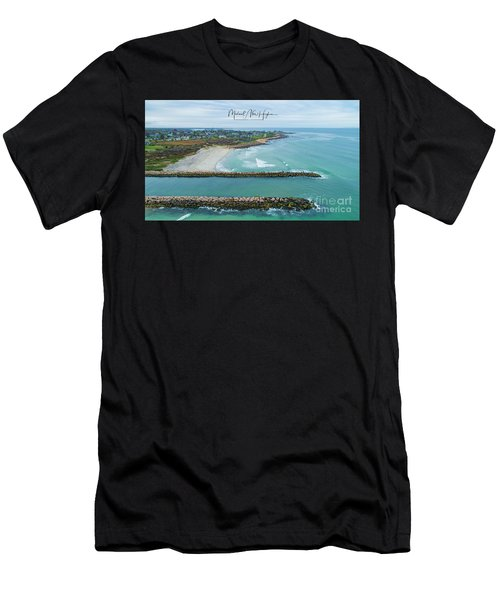 Fenway Beach, Weekapaug Men's T-Shirt (Athletic Fit)