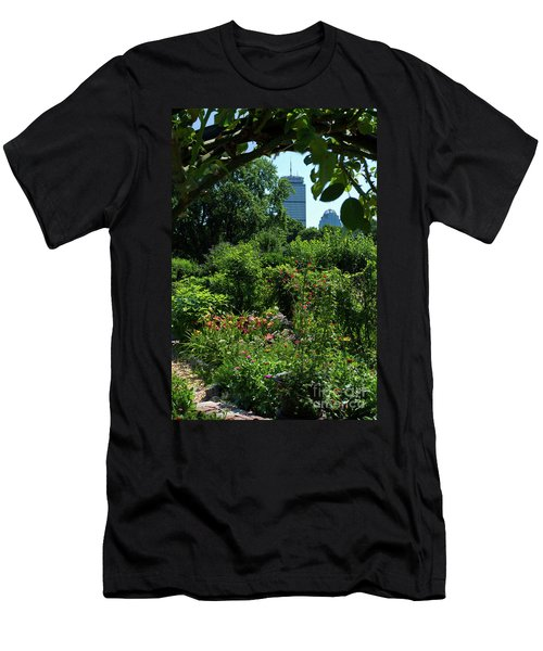 Fenway Victory Gardens In Boston Massachusetts  -30951-30952 Men's T-Shirt (Athletic Fit)