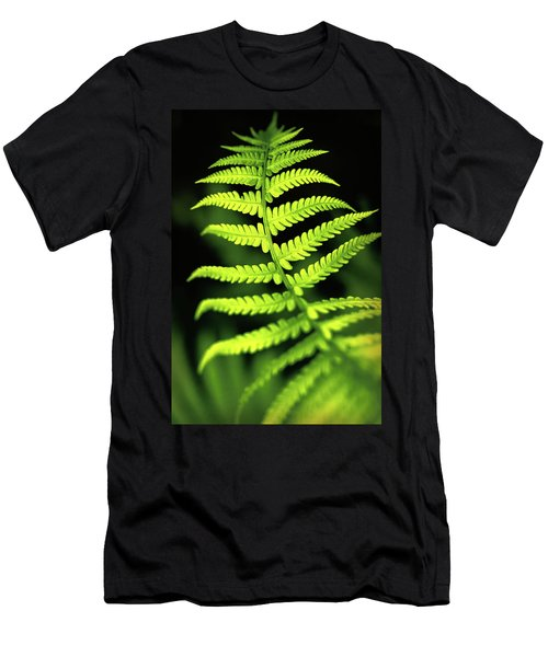 Fern Leaf Men's T-Shirt (Athletic Fit)