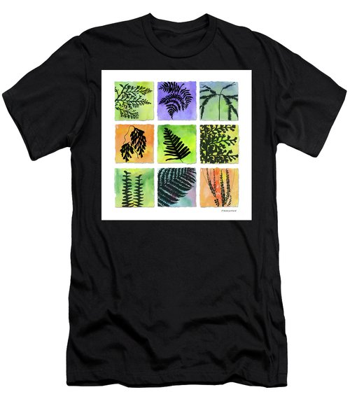 Ferns Of Hawaii Men's T-Shirt (Athletic Fit)