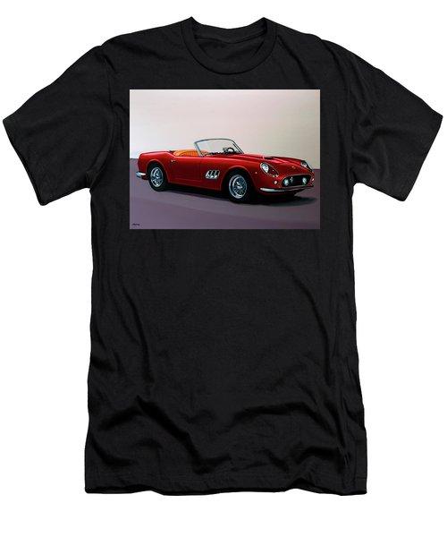 Ferrari 250 Gt California Spyder 1957 Painting Men's T-Shirt (Athletic Fit)