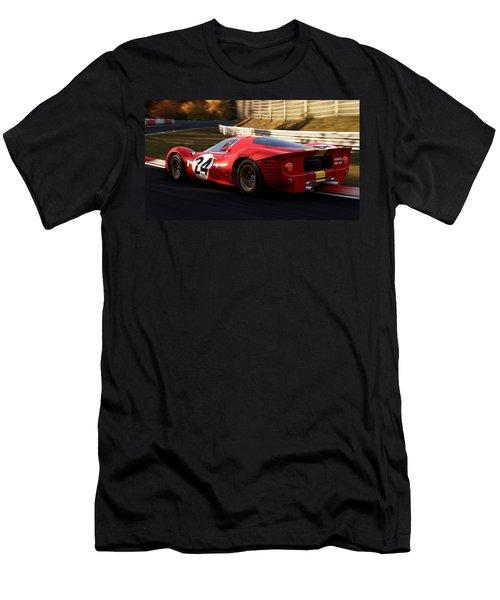 Ferrari 330 P4, Nordschleife - 17 Men's T-Shirt (Athletic Fit)