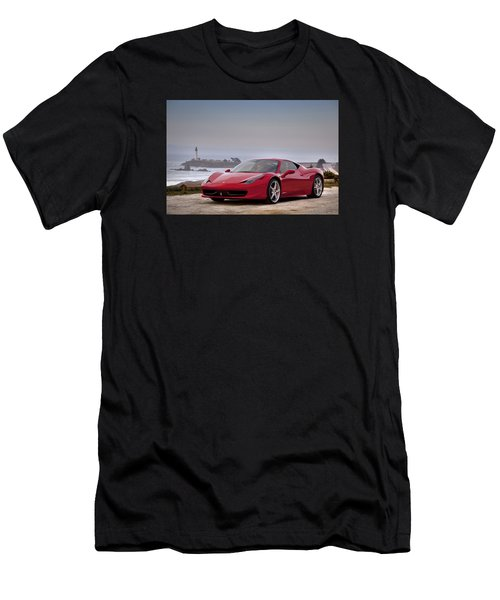 Ferrari 458 Italia Men's T-Shirt (Athletic Fit)