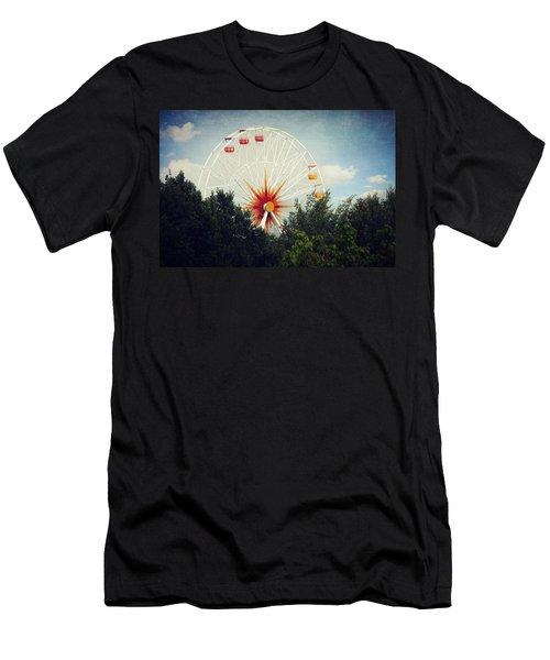 Ferris Wheel 2 Men's T-Shirt (Athletic Fit)